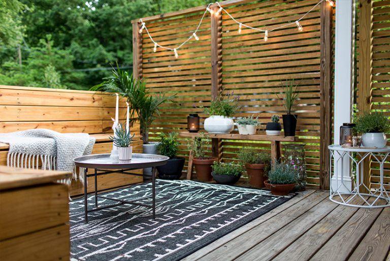 Ultra Terrasse de 10m² : comment l'aménager et la décorer | Aménagement CJ-03