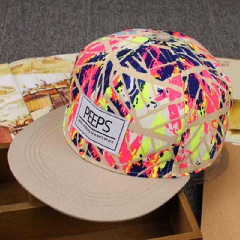 Fashion Men/'s Snapback Adjustable Baseball Cap Hip Hop hat Cool Floral Print