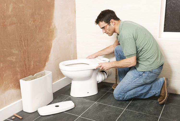 Here S How To Move A Toilet With Minimal Cost And Mess Bathroom