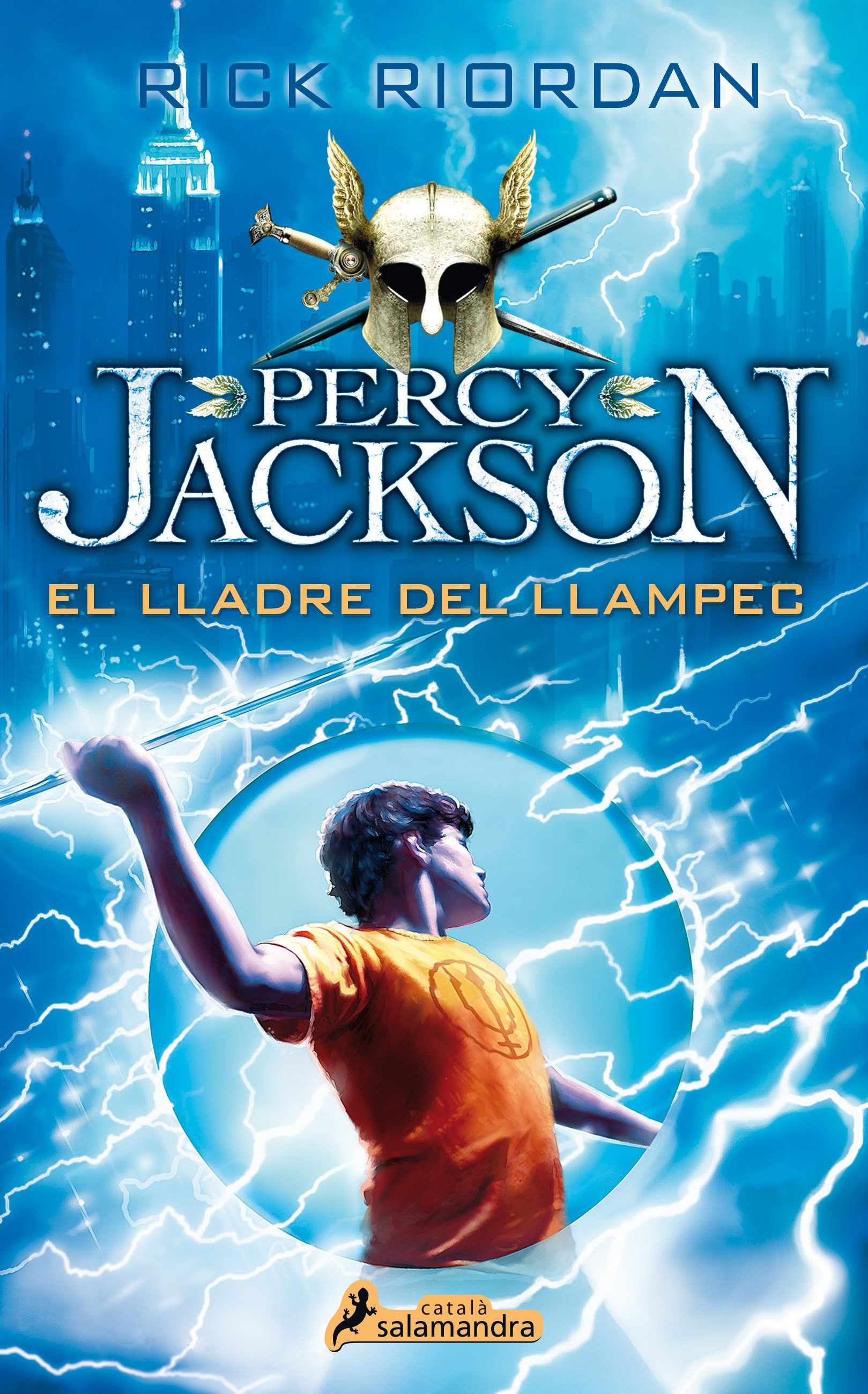 Riordan rick percy jackson el lladre del llampec salamandra buy percy jackson and the lightning thief book by rick riordan from waterstones today click and collect from your local waterstones or get free uk fandeluxe Images