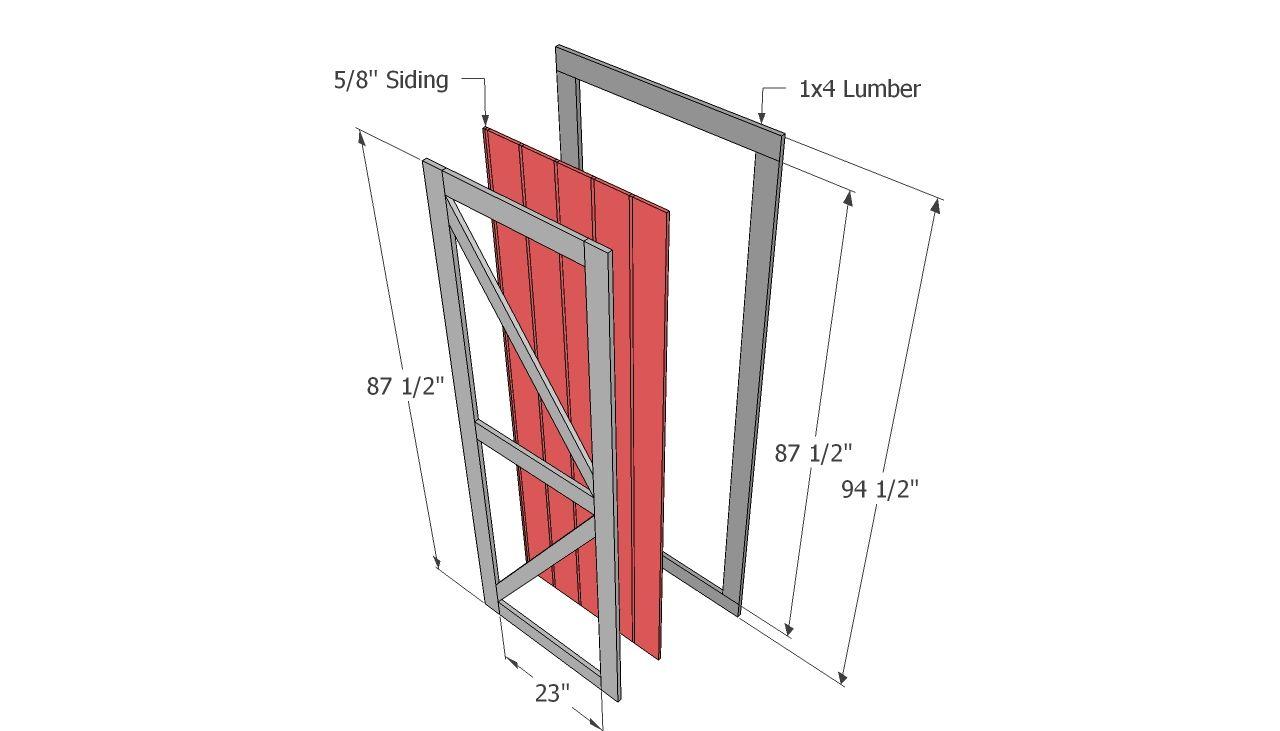 shed doors deere shed pinterest doors storage and backyard - Shed Door Design Ideas