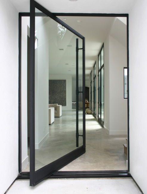 pingl par maud brusson sur projet maison idees portes vitr es int rieures porte d 39 entr e en. Black Bedroom Furniture Sets. Home Design Ideas