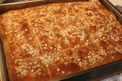 brytebrød Långpannebröd med havregryn