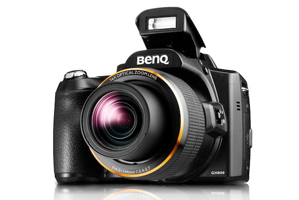 BenQ تطرح كاميرا التقريب الخارق GH 800 بالمنطقة