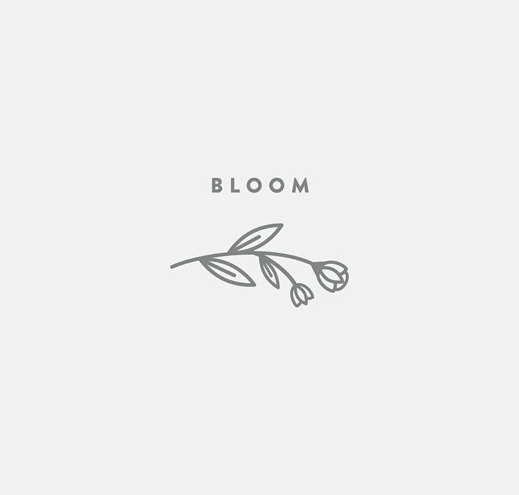 flower logo design inspiration graphic design inspiration pinterest logo design logo. Black Bedroom Furniture Sets. Home Design Ideas