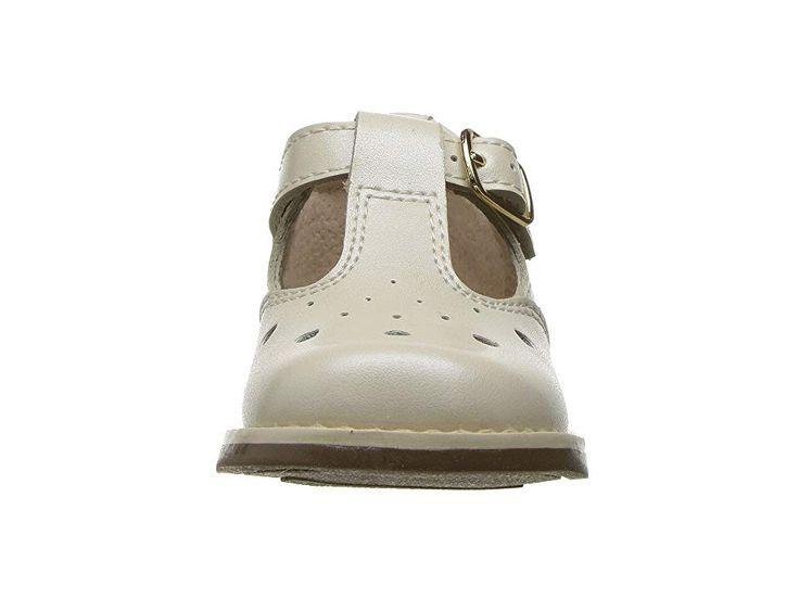 d5f2752d2ec21 FootMates Harper (Infant Toddler) Girls Shoes Bone