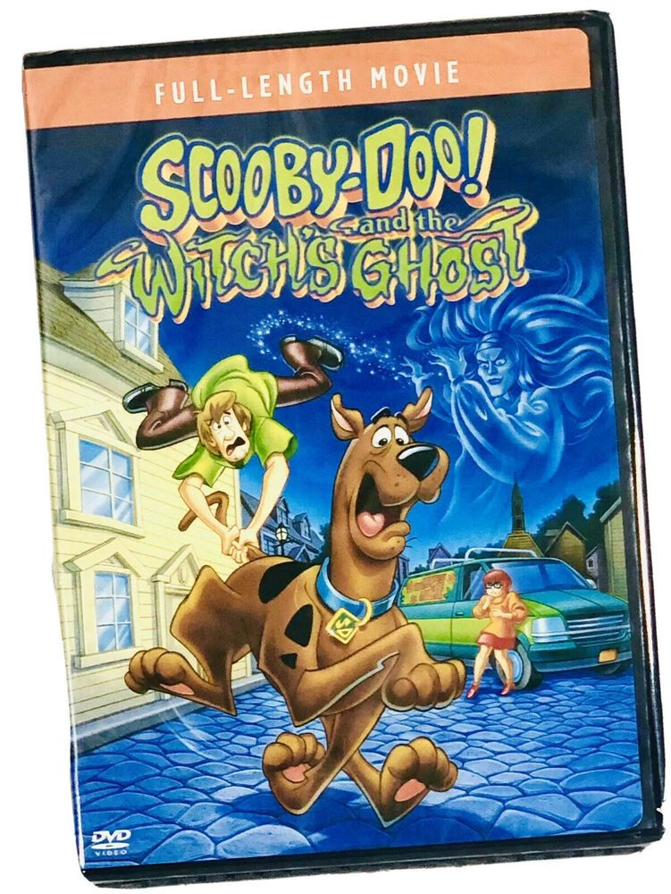 Scooby Doo And The Witch S Ghost New Sealed Dvd With Special Features In 2020 Scooby Doo Movie Ghost Movies Ghost Film