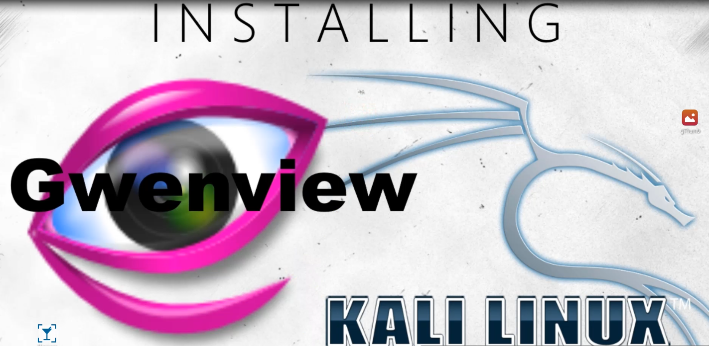 How to install #Gwenview #KDE #image #viewer on #Kali #Linux
