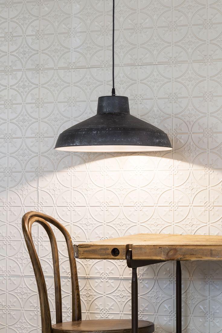 Atlanta Iron Pendant Light In Rustic Iron Featuring Fleur De Lys - Pendant light collections