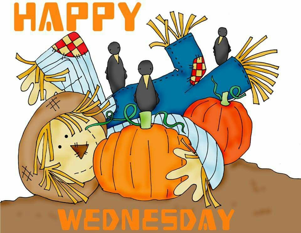 Happy Wednesday | Digi stamps, Digi stamps free, Scarecrow