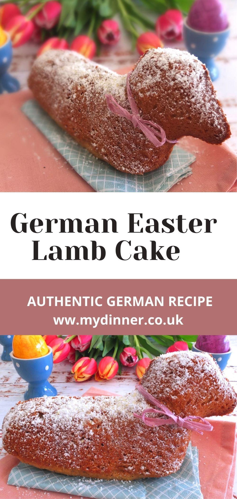 German easter lamb cake osterlamm recipe in 2021