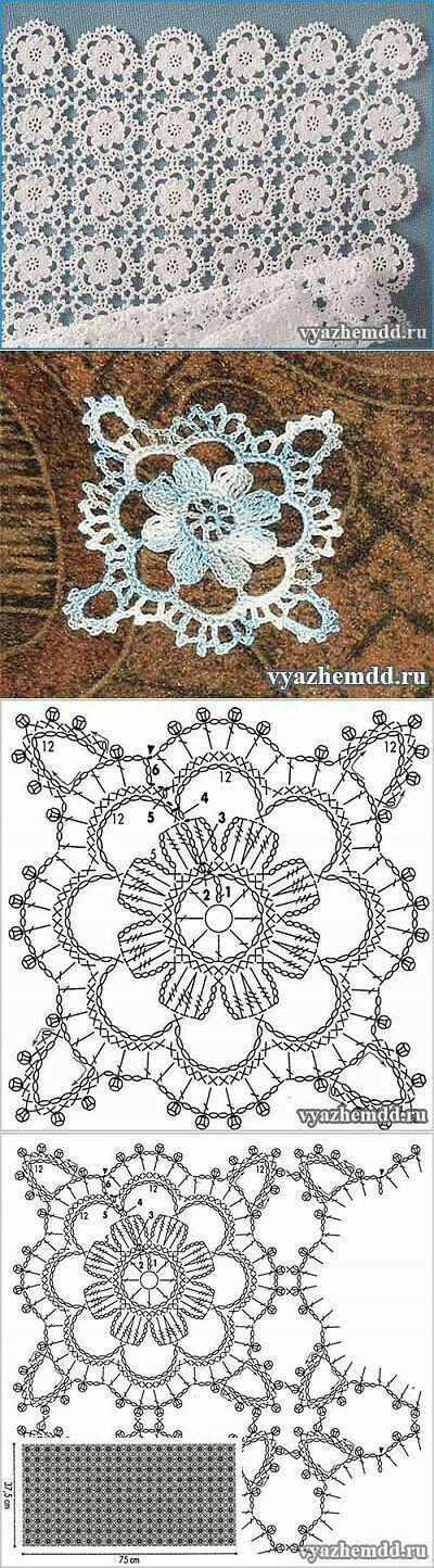Pin von OLI Martz auf cosas a crochet | Pinterest | Motive ...