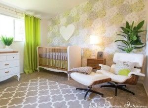 Design reveal a modern lime green nursery nursery ideas babykamer