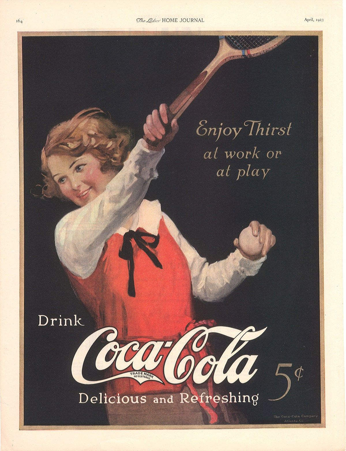 A history of coca-cola taglines: From 'drink coca-cola' to 'taste the feeling' From 'drink coca-cola' to 'taste the feeling': A history of coca-cola taglines  Since the coca-cola was born in 1886, it has changed its taglines several times making the history of coca-cola taglines so vast.  Some of them may be familiar to you depending upon the generation you belong to. The first official tagline of the coca-cola came out at the time when John Stith Pemberto