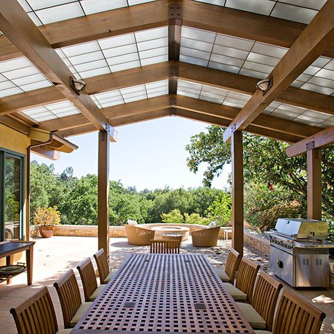 3 Portola Valley Residence contemporary Patio San