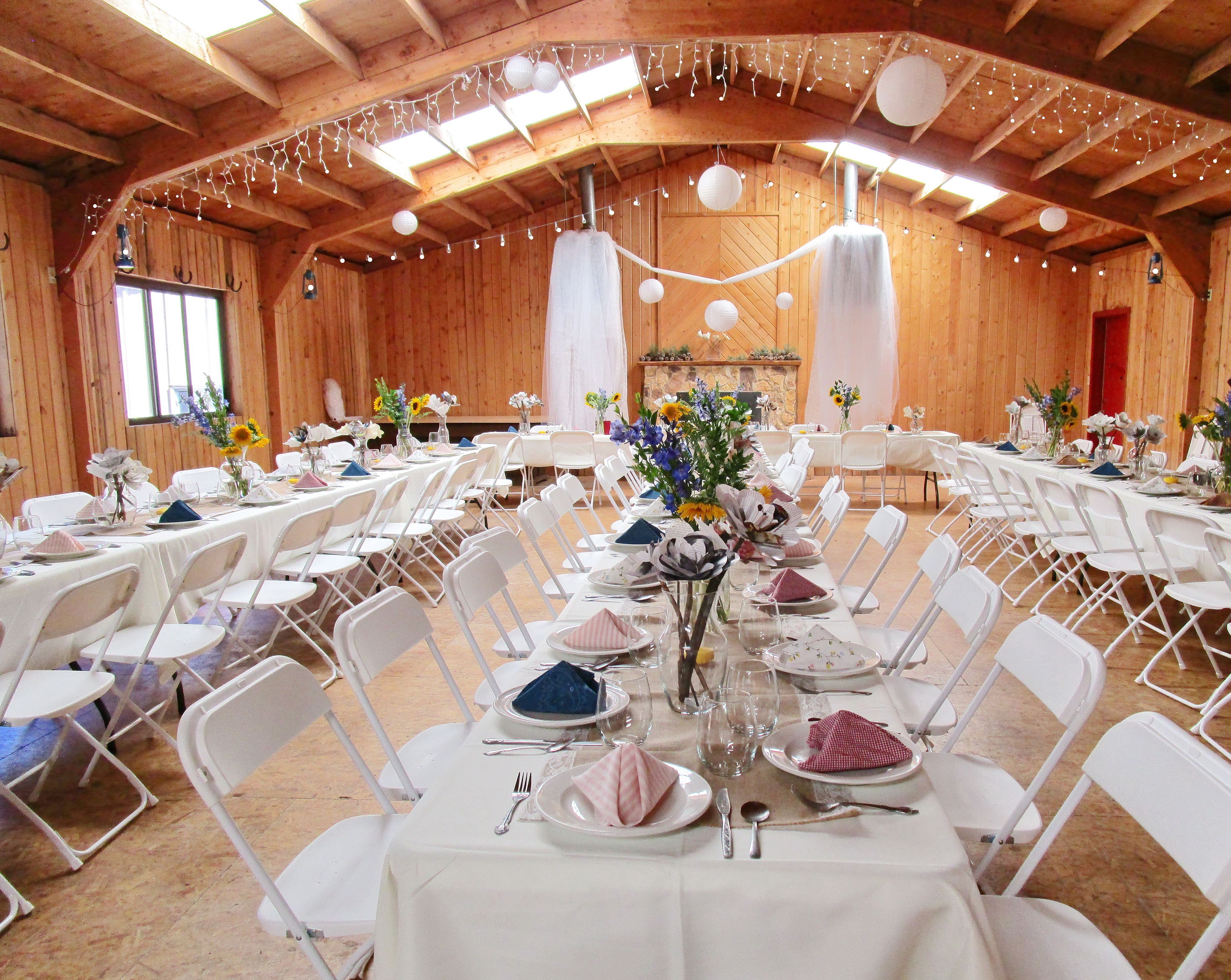 The Gorgeous And Rustic Sun Dance Wedding Reception Hall The
