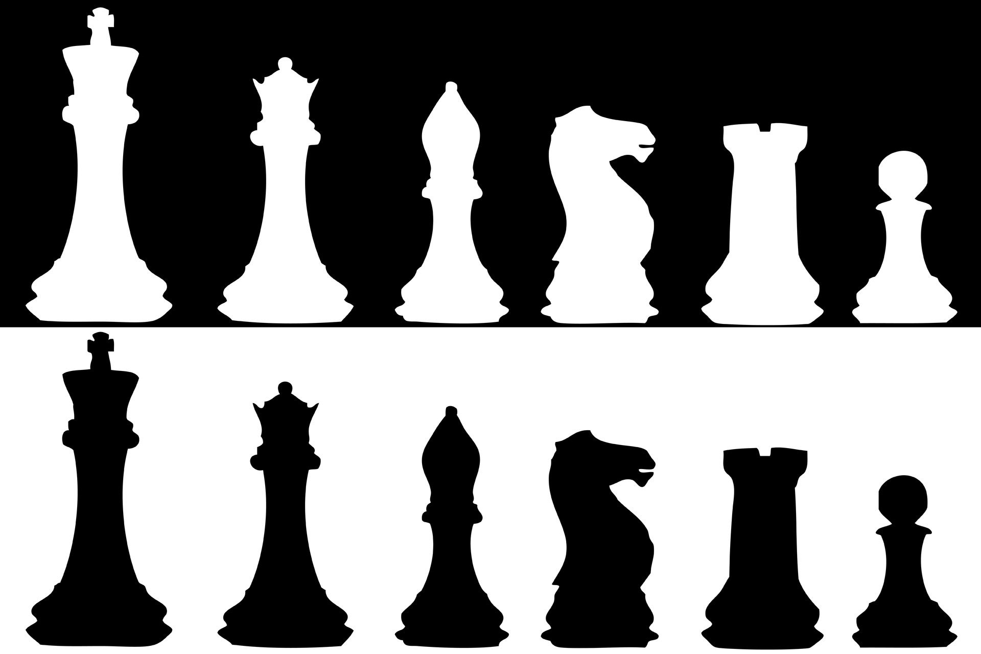 Chess Pieces Clip Art
