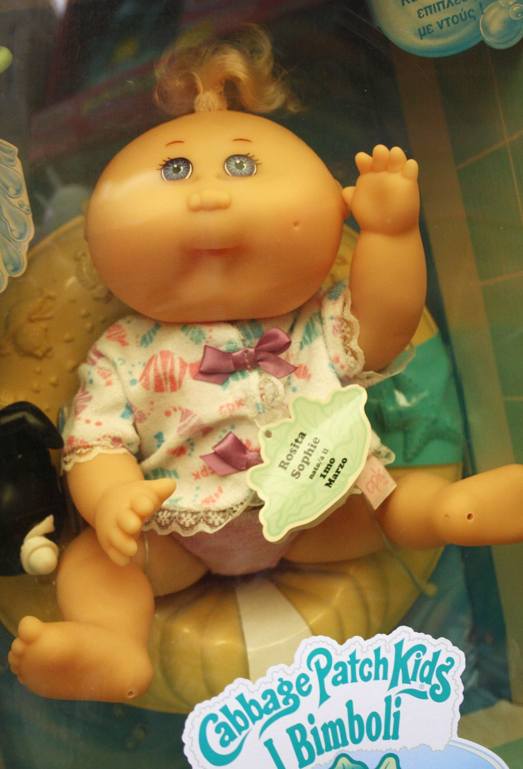 Rare Vintage 1995 Cabbage Patch Kids Bath Baby Doll Rosita Mattel New Sealed Cabbage Patch Kids Patch Kids Cabbage Patch Babies