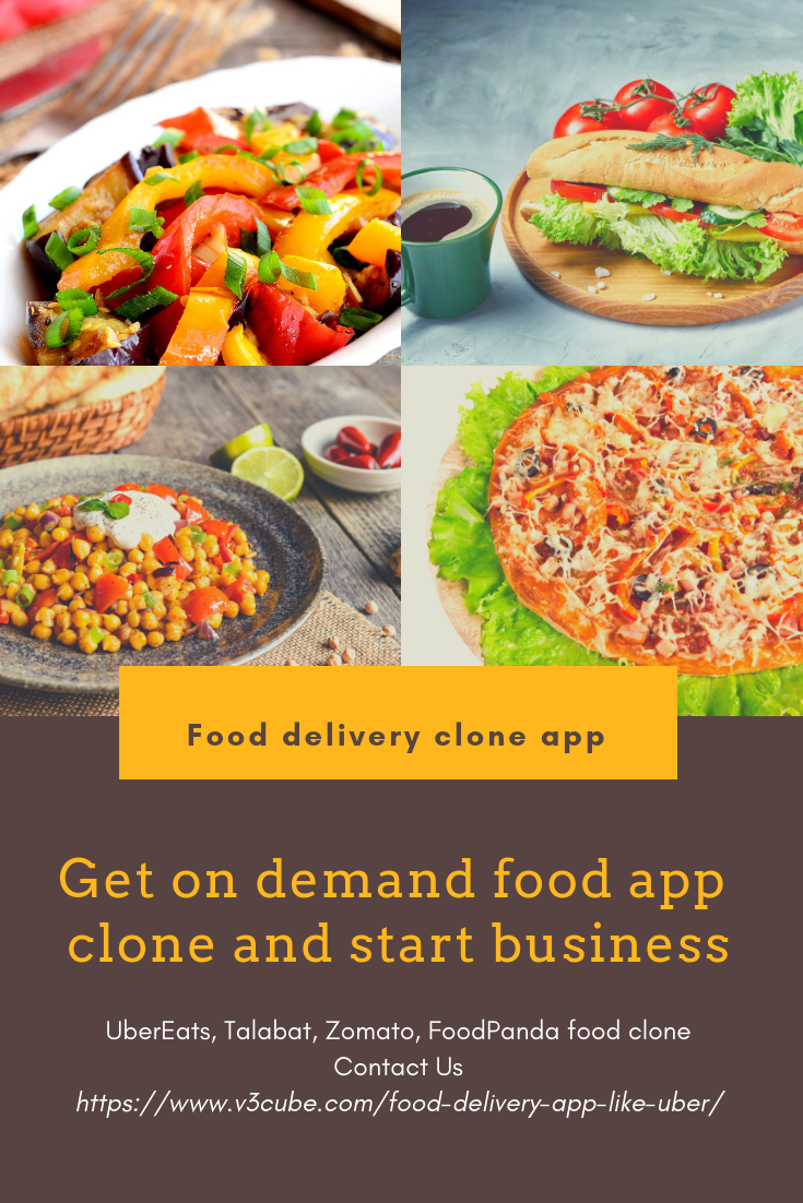 start your food delivery business with the on demand food