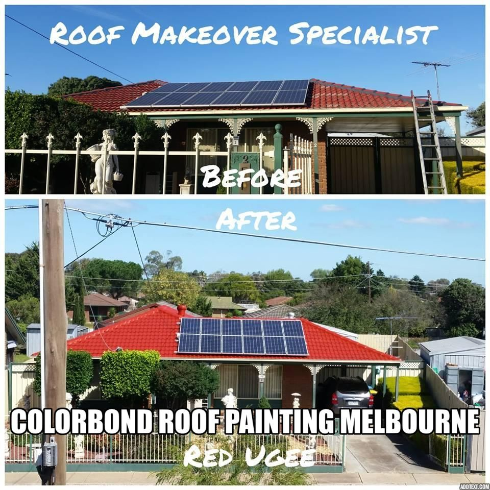 Colorbond Roof Painting Melbourne Roof Restoration Roof Paint Colorbond Roof