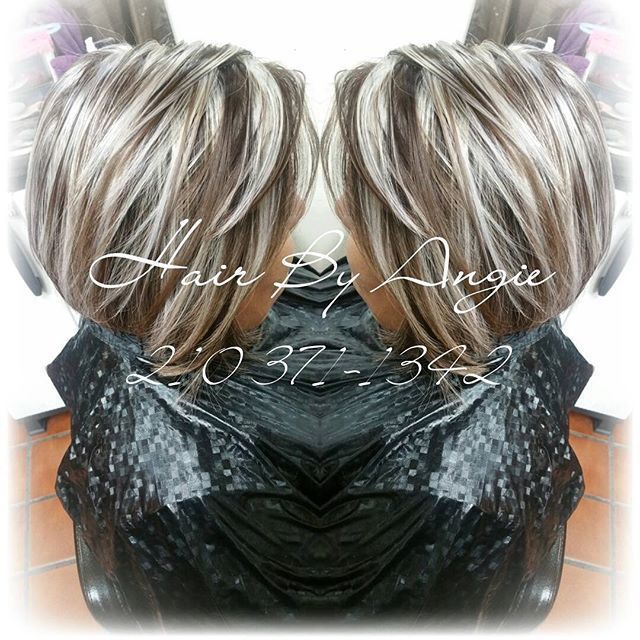Image Result For Transition To Grey Hair With Highlights Cindi