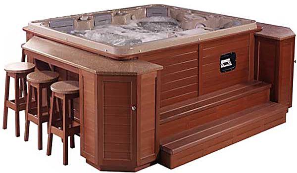 Hot Tub Backyard, Hot Tub Furniture