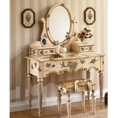 Vanity Chairs Vintage Shabby White Vanity Louis Xv Vanity Bedroom Vanity Vanities