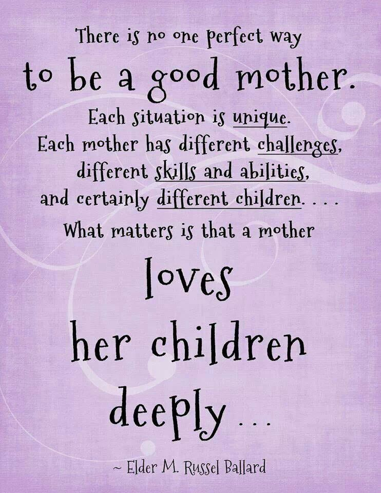 Deeply. I will always love kids no matter what and stand behind