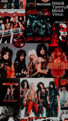 Rocker Just Creations Band Wallpapers Motley Crue Rock N Roll Art