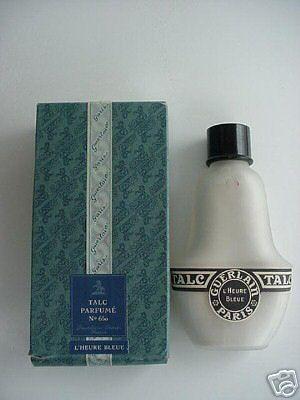 Talc De Vintage Guerlain Glass BoxParfum L'heure In Full Bleue UMzGpqVLS