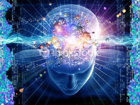 Foto stock : Molecular Thoughts