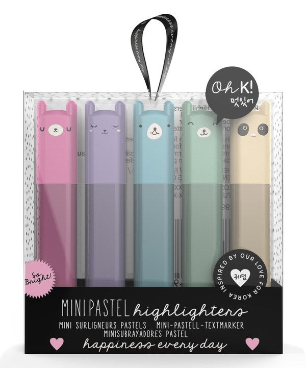 Look at this Mini Pastel Highlighter - Set of Five on #zulily today!