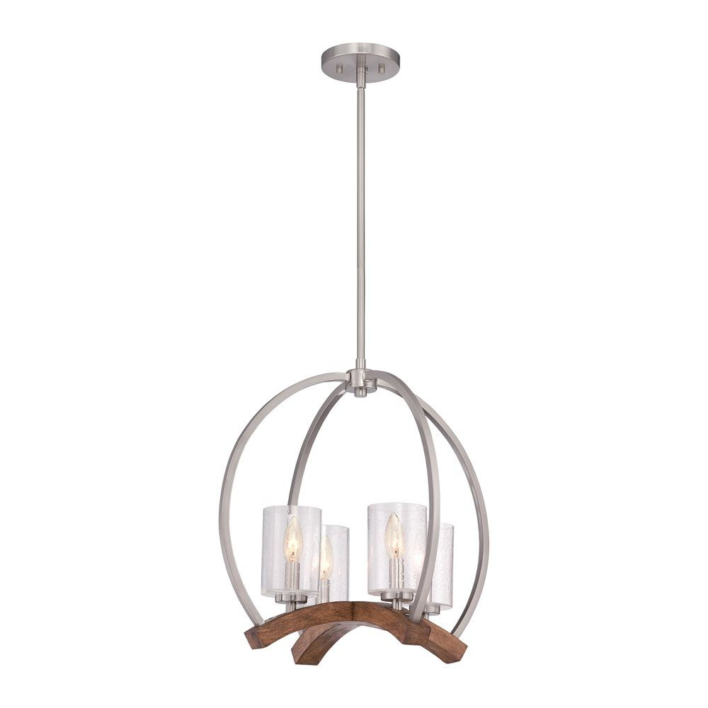 Shop Quoizel Kayden 4 Light Chandelier At Lowes Canada Find Our Selection Of Chandeliers The Lowest Price Guaranteed With Match Off