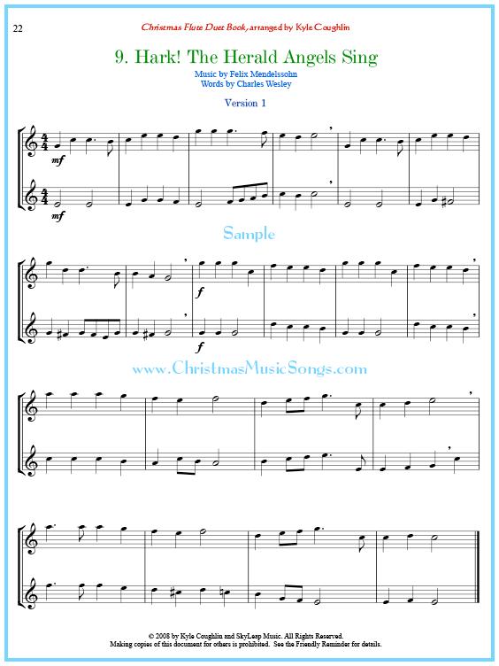 Easy Flute Duet No 2 Sheet Music Digital Sheet Music Flute
