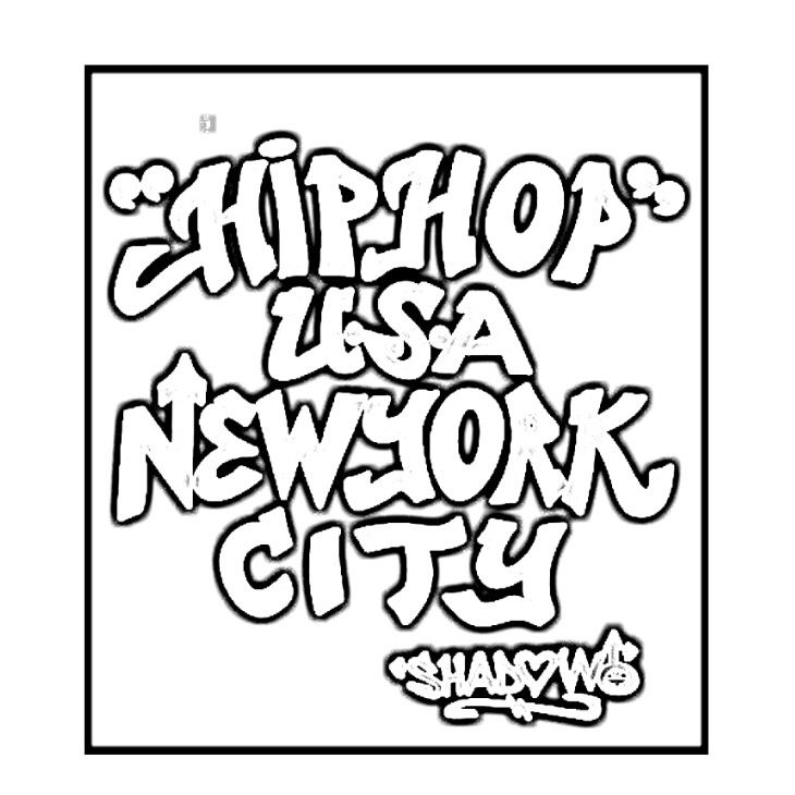 Hip Hop Store in New York | Hip Hop Coloring Book compiled by Jamee ...