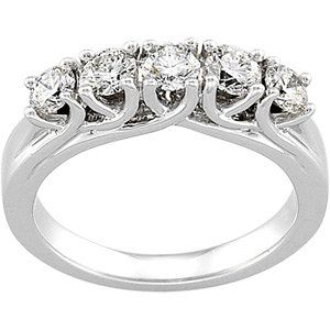 Multi Stone Diamond Anniversary Band Philadelphia Jewelry Engagement Delco Diamond Anniversary Bands Diamond Gold Anniversary Rings