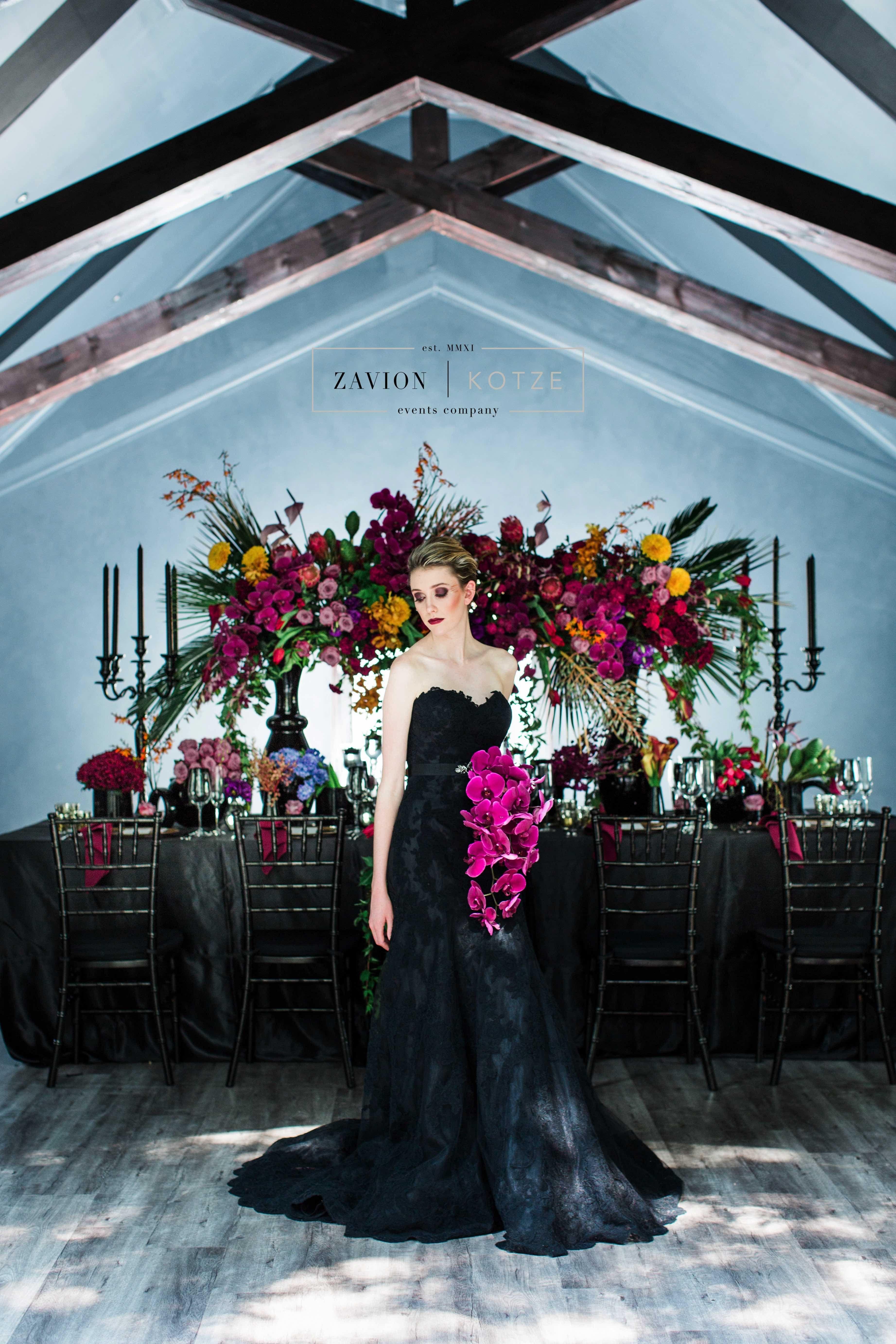 Luxury Bohemian Wedding Flowers Boho Wedding Purple