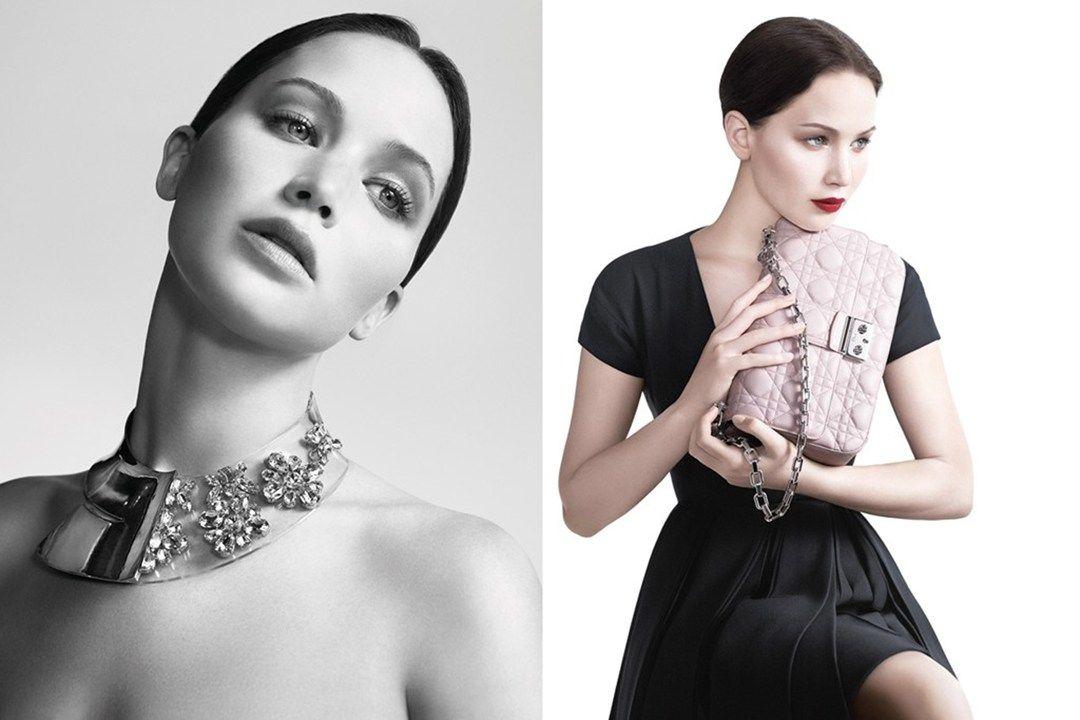 Jennifer Lawrence for Dior spring/summer 2013