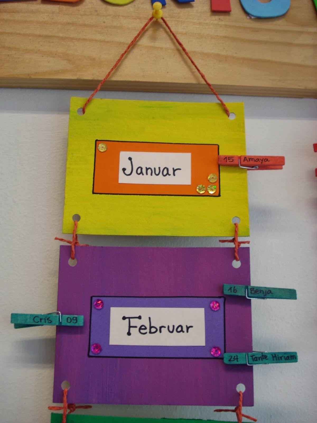 en mi sala de clases...: Calendario de Cumpleaños