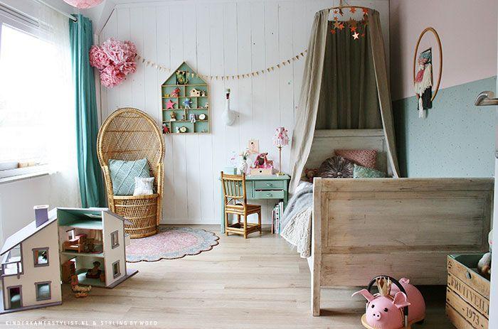 Meisjes slaapkamer ideeen | Kinderkamerstylist | Paleisje Bep ...