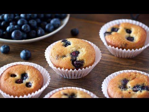 Paleo Blueberry Muffin Grain Free Gluten Free Low Carb With