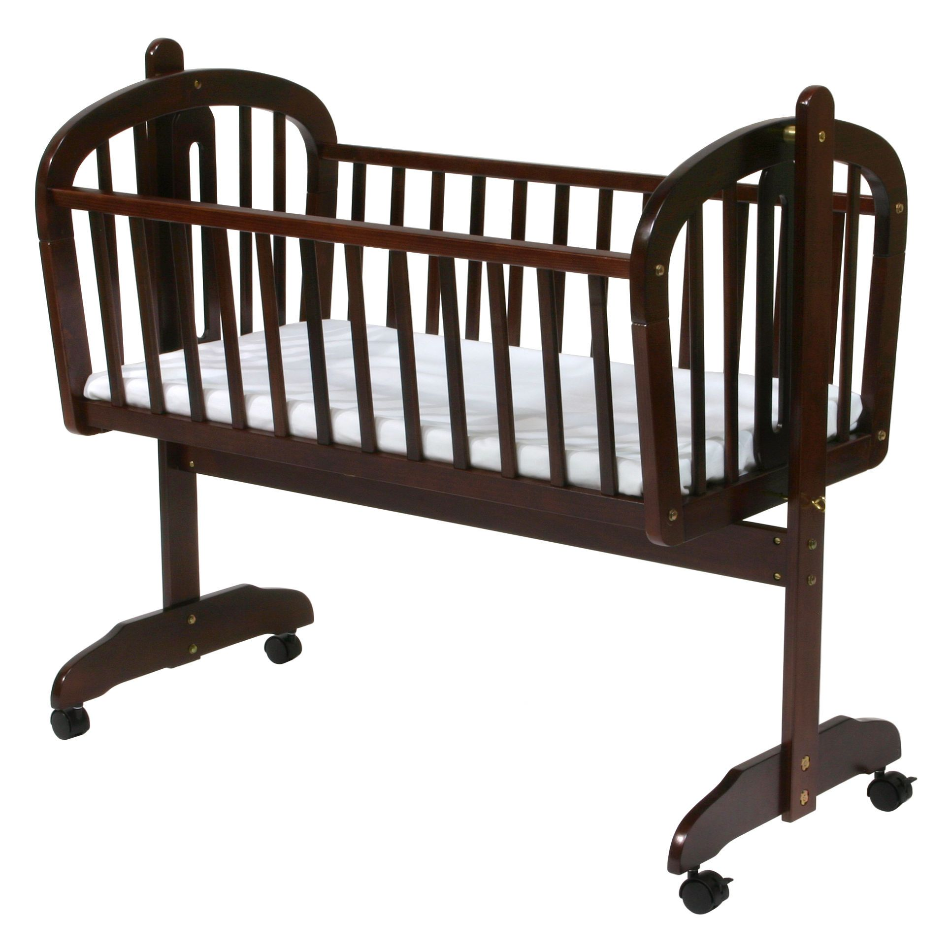Davinci Futura Rocking Cradle With Wheels Bcd Baby Cradle Wooden
