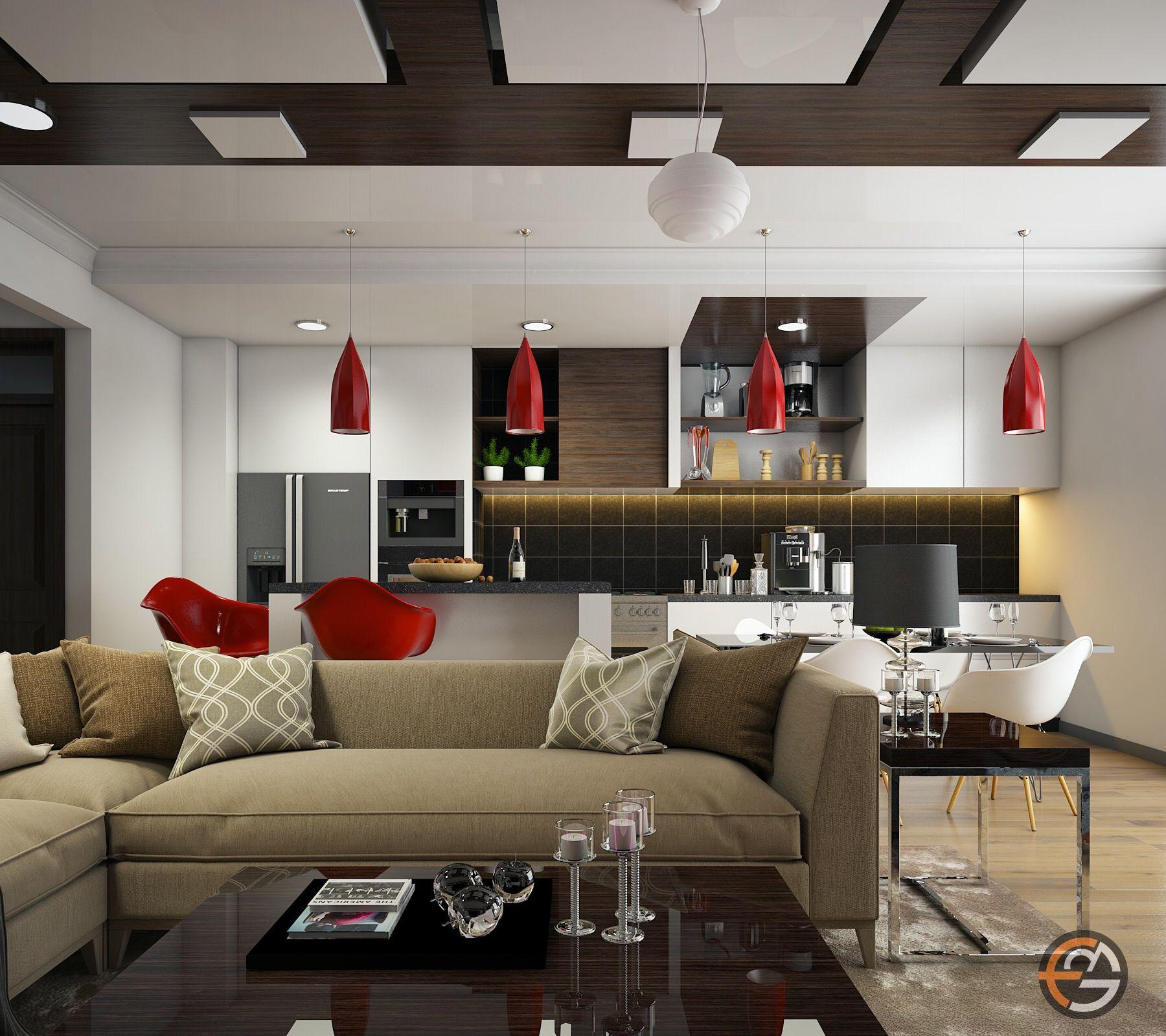 Apartment interior design by egmdesigns egmdesigns