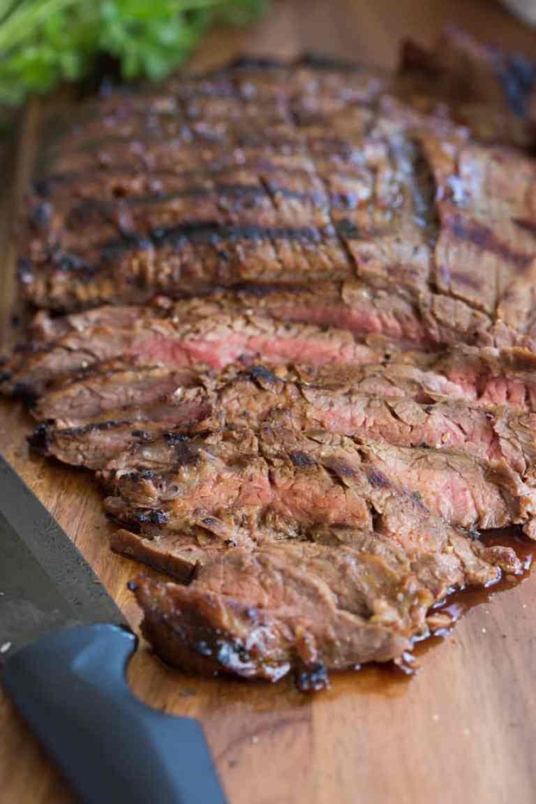 Marinated Flank Steak Recipe Marinated Flank Steak Steak Flank Steak Recipes