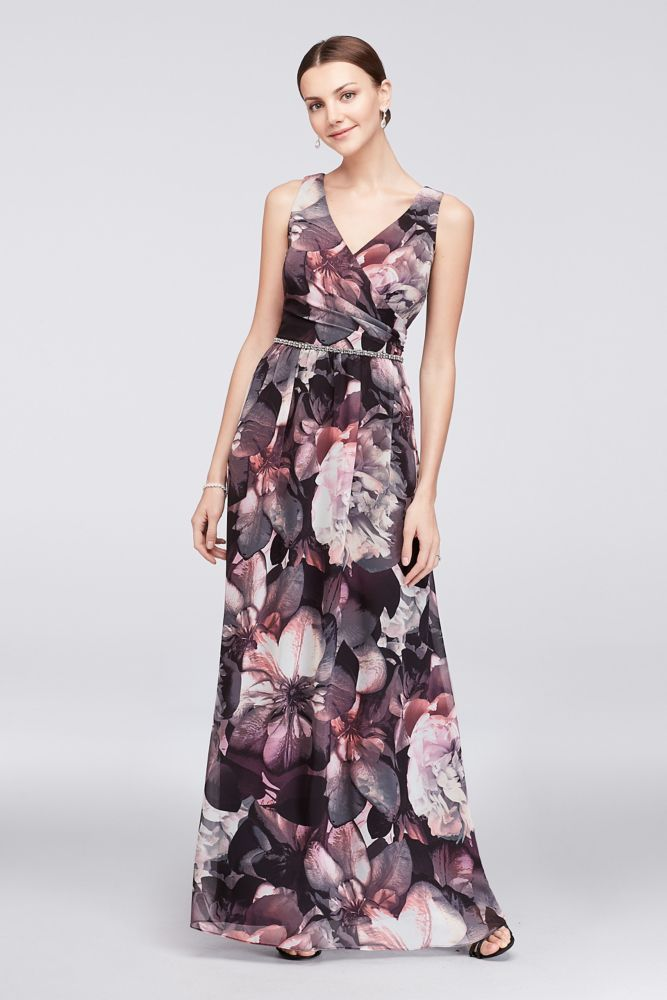 e8696e1bb4 Wedding Formal Mother of the Bride Groom Floral Maxi Dress size xl
