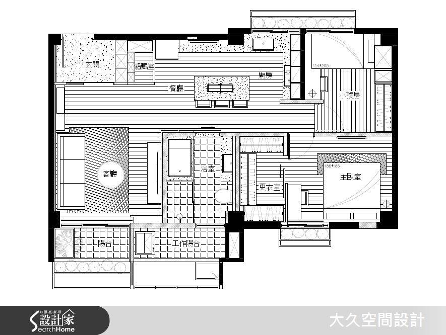 現代風 大久空間設計有限公司 廖志偉、潘柏菁 (198557)-設計家 Searchome