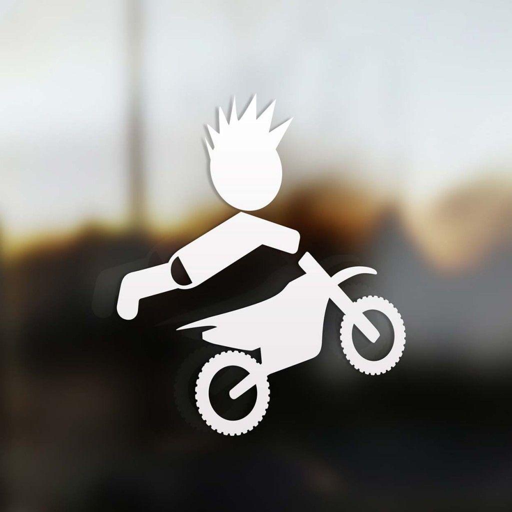 Design your car sticker - Motocross Boy Rider Family Stickers Create Your Own Family Sticker For Your Car Our