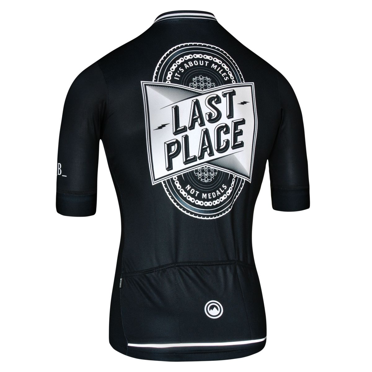 Last Place Women Jersey - Short Sleeve Women's Cycling Jersey by Milltag