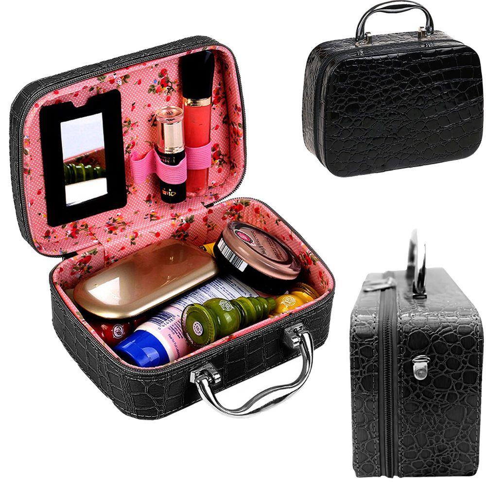 Handy Makeup Handbag Organizer Bag Professional Cosmetic