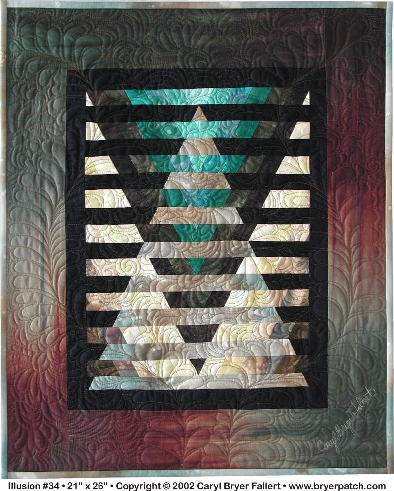 Caryl Bryer Fallert-Illusion Quilt